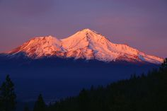 Chakra 1 -Muladhara- Mount Shasta, North America -