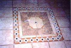 Custom Design Tile Floor