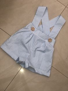 Cute Outfits For Kids, Toddler Outfits, Baby Boy Outfits, Fashion Kids, Baby Dress Design, Diy Bebe, Baby Dress Patterns, Romper Outfit, Cute Baby Clothes