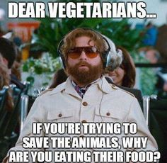 Vegetarians should think about this…
