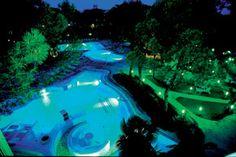 Hotel terme Bistrol Buja by night at Abano Terme (Padua Italy)    www.tas.it