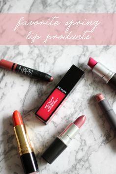 Favorite Spring Lip Colors - Daily Dose of Darling