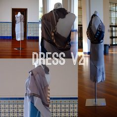 Dress V2: zero waste techniques