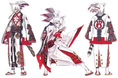 Izuna Concept from Guilty Gear 2: Overture