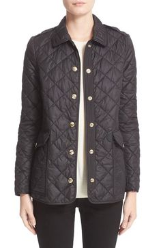 Burberry Westbridge Quilted Jacket available at #Nordstrom