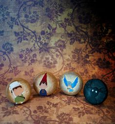 Over the Garden Wall Pinback Button Set Gregory by TheLurkingQuirk