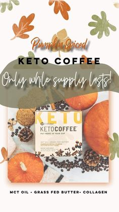 Treat yourself with each brimming cup of this instant coffee that fuels ketone creation and offers a caffeine kick that won't break your fast. Features and Benefits: 🎃☕️Supports your low-carb, ketogenic lifestyle. 🎃☕️Fuels you with instant energy—anywhere, anytime. 🎃☕️Helps you stay sharp, focused, and in a good mood. 🎃☕️Fights off hunger cravings to reduce eating between meals. 🎃☕️Non-GMO, No Artificial Colors or Flavors, Keto-friendly, Soy-free