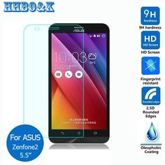 For asus zenfone 2 ZE551ML Tempered Glass Screen Protector 2.5 9h safety Protective Film on zenfone2 5.5 ZE550ML 2E 5.0 ZE500CL