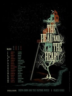 The Head And The Heart - March 2012 Tour