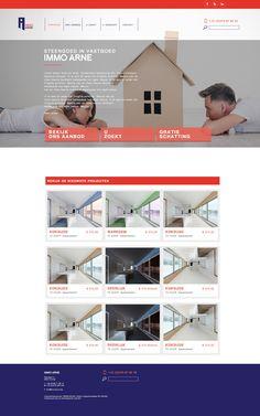 Immo Arne - webdesign. www.immoarne.be Desktop Screenshot, Web Design, Movie Posters, Movies, Design Web, Films, Film Poster, Cinema, Movie