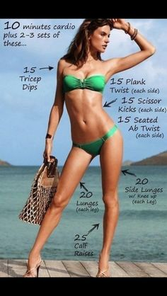Bikini body workout