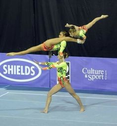 Acrobatics gymnastics, womens group