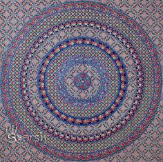 Indian Floral Hippie Tapestry Hippie Mandala Tapestries by Sparshh