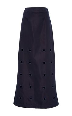 Damien Embroidered Maxi Skirt by CF. Goldman