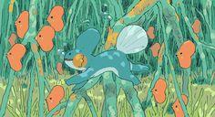 Turn de Cassette - Fave Pokémon – Mudkip (in the mangroves) + Mewtwo. Pikachu, My Pokemon, Pokemon Images, Pokemon Pictures, Monster Hunter, Mudkip, Bulbasaur, Fanart, Cassette