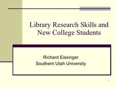 ulms-library-research-skills-presentation-696951 by eissinger via Slideshare