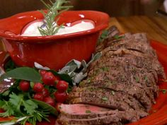 Get Paula Deen's Slow Cooked Roast with Creamy Herb Sauce Recipe from Food Network