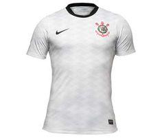 Veja como é a nova camisa do Corinthians; preço sugerido é de R$ 259,90 http://r7.com/K32S
