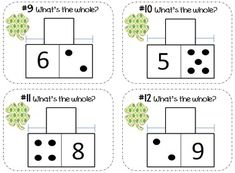 Addition & Subtraction Task Cards: Part-Part-Whole {Shamro