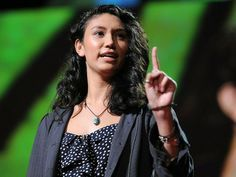This is the BEST TED Talks I've seen! Do yourself a favor and give yourself 18 minutes to be blown away with inspiration. She received not one but 2 standing ovations for her speech. It gave me goosebumps...absolutely beautiful!