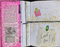 Visual Journal Page 33-Notes