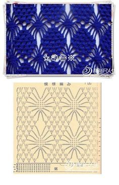 This is also good curtain pattern - Salvabrani - Salvabrani Crochet Motifs, Crochet Borders, Crochet Diagram, Crochet Stitches Patterns, Crochet Chart, Filet Crochet, Crochet Designs, Crochet Doilies, Crochet Flowers