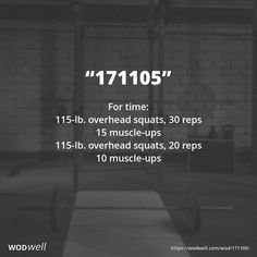 WOD - Complete as many rounds as possible in 15 minutes: 20 push-ups; Wod Workout, Insanity Workout, Gym Workouts, At Home Workouts, Crossfit Exercises, Killer Workouts, Street Workout, Workout Ideas, Workout Fitness