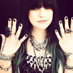 Juliet Simms -ugh i love her voice! it has a really pretty dirty rasp that i love.
