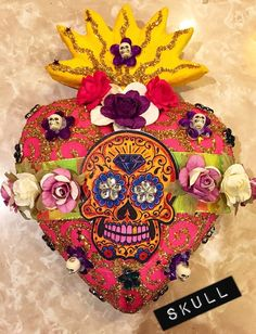 House of Guadalupe - Mexican Folk Art ONLINE SHOP — Paper mache hearts