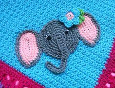 you tube crochet owl applique