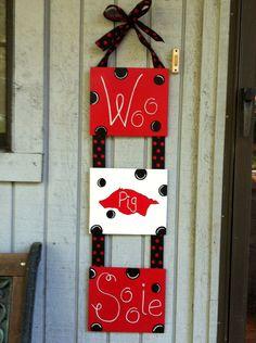 Razorback Door/Wall Hanger. $25.00, via Etsy.