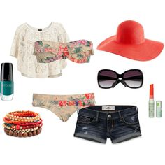 Perfect beach outfit