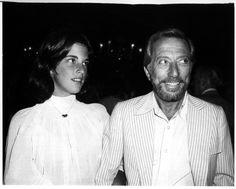 Andy Williams and daughter Noelle. RFK Memorial Tennis. 1978. New York.