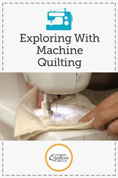 Machine quilting has become a well respected art form. Good quilting can take a simple quilt top and turn it into a thing of exquisite beauty.