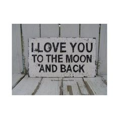 i tell this to my sweet little boy (who LOVES the moon) every day. I should paint it on his wall.