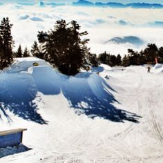 snowpark chamrousse