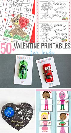 Blog post at KiddyCharts : We've got a treat for you! We've gathered some of the most adorable and free valentines day printables for kids for you all. From Valentines[..]