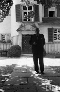 Carl Jung in Life Magazine C G Jung, Jung In, Sigmund Freud, Carl Jung Quotes, Gustav Jung, Mental Strength, Stone Work, Archetypes, Einstein