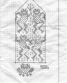 Krāsaini cimdu raksti - Rokdarbu grāmatas un dažādas shēmas Knitted Mittens Pattern, Knit Mittens, Knitting Charts, Knitting Patterns, Fair Isle Chart, Pattern Library, 8 Bit, Knit Crochet, Crochet Things