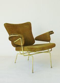 ERNEST RACE (originally thought) , Italian Chair, 1950's. sold by www.merzbau.co.uk Jon W Benedict (@jonwbenedict) on Instagram