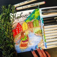 А помните замечательная Рита Panda разрабатывала схемы для вышивок по моим иллюстрациям. Так вот, наша девчушка путешествует дальше и скоро к Лондону и Исландии добавится Норвегия! Со своими речушками, фьордами и горами 😌 Все можно узнать вот по этой ссылке https://vk.com/pandastitches   #mariashishcova #illustrator #illustragram #illustration #art #drawing #drawingeveryday #stiches #crossstitch #embroidery #fancywork #markerart #markers #leuchtturm1917 #topcreator #picture #touchmarkers…