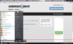 Cómo hacer un vídeo tutorial con Screencast-o-Matic