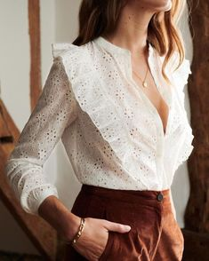 Stylish summer outfit ideas - Casual Summer Outfits for Work Stylish Summer Outfits, Classy Outfits, Trendy Outfits, Fall Outfits, Work Outfits, White Outfits, Paris Mode, Outfit Trends, Mode Inspiration