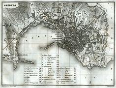 1857-Pianta di Genova.Carta Topografica,Geografica.Acciaio.Artaria.Stampa Antica.1857 | Arte e antiquariato, Tecniche incisorie, Acquaforte | eBay!