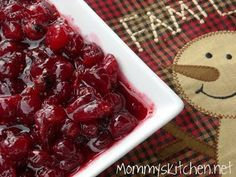 Mommy's Kitchen: Cranberry Orange Sauce {My New Cranberry Sauce Recipe}