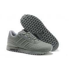 f6f44bf9a68862 Neueste Adidas Originals T-ZX Runner Männerschuhe Grau Schuhe Online