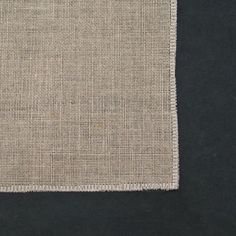 Edge Finishes for Embroidery Fabrics