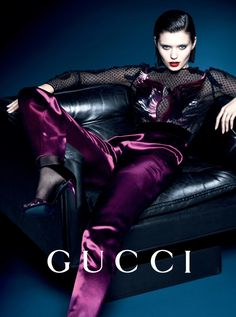 Abbey Lee Kershaw & Adrien Sahores by Mert Alas & Marcus Piggott for Gucci Campaign FW 2013-2014 5