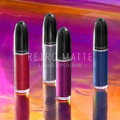 MAC Holiday 2017 Retro Matte Liquid Lipcolour Metallics NEW SHADES - Beauty Trends and Latest Makeup Collections | Chic Profile