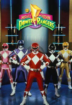 Mighty Morphing Power Rangers 1st Series 1993 - 1994  / マイティモーフィンのパワーレンジャー シーズン 1 .jpg